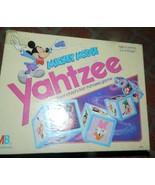 Mickey Mouse Yahtzee Milton Bradley 1988 Vintage  - Complete - $15.00