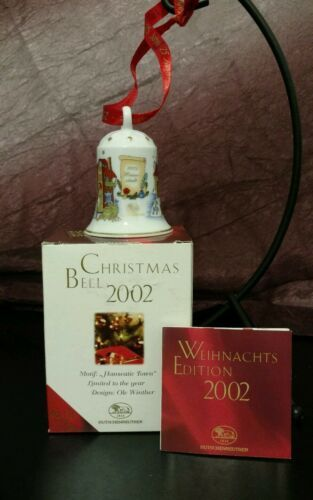 Primary image for Christmas Bell Hutschenreuther  Hanseatic Town Ole Winter 25 years 2002