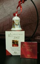 Christmas Bell Hutschenreuther  Hanseatic Town Ole Winter 25 years 2002 - $27.99