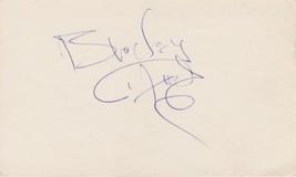 Broderick Crawford (d. 1986) Signed Autographed Vintage 3x5 Index Card - $49.99