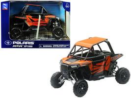 Polaris RZR XP1000 ATV Orange 1/18 Model by New Ray - $35.13