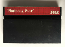 ☆ Phantasy Star 1 (Sega Master System 1988) AUTHENTIC Game Cart Works ☆ - $59.99