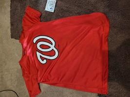 MLB Washington Nationals Boys' Performance T-Shirt with Gel Print - Large - $13.00