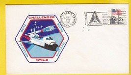 STS-6 Challenger Kennedy Space Center FL 4月4日,1983年 -  $ 1.98