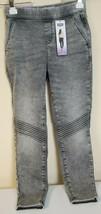 Levi's Denizen Women's Size XS Gray Wash Distressed High Rise Moto Jegging  - $24.95