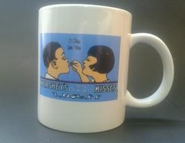 Hershey's Milk Chocolate Kisses Coffee Cocoa Mug Cup A Kiss For You 2003 - $16.01