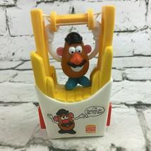 Vtg 1998 Burger King Kids Meal Toy Mr. Potato Head  I'm Training For The Fry Bar - $9.89