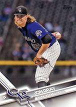 2017 Jon Gray #209 Baseball Card (Topps) - $1.49