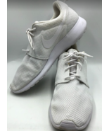 Nike Men's All White Athletic Shoes Mesh Walk Run Gym Sneakers Size 10.5 - $59.95