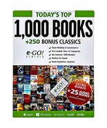 e-GO! Library Today's Top 1000 Books with 250 Bonus Classics, Green - $37.07