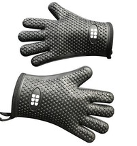 Heat Resistant BBQ Cooking Gloves - $21.99