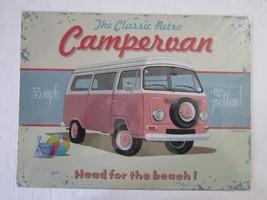 Campervan Classic Retro Metal Sign - $24.95