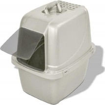 Covered Cat Litter Box, Large high polish finish makes pan easier to clean - $33.65