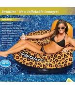 Swimline Wild Things CHEETAH Print Ring Tube NEW IN BOX - $16.95