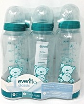 Evenflo classic 6 bottle slow flow nipples cap ring and hoods - $12.84