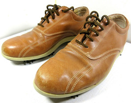 Footjoy Brown Leather Golf Shoes Lopro Collection Size Men's 7.5 97035 - $24.70
