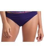 La Blanca Bikini Bottom Sz 10 Iris Purple Solid Hipster Swim Pant LB4CA93 - €14,52 EUR
