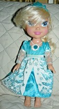 "Disney Frozen Singing Elsa Doll 13"" - $15.50"