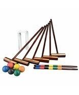 Expert Croquet, Set 2-6 Players, Portable Carry Bag Storage, Fun & Leisu... - $311.30