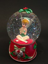 Tinker Bell Lighted Snow Globe Christmas Holiday Disney Store 2004 - $29.99
