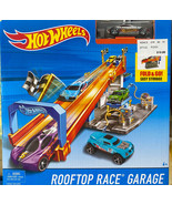 Hot Wheels City Dine & Dash Play Set NEW Mattel Car Included - $11.88