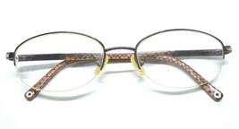 COACH Womens Eyeglass Frame FAYE 118 TAN 51-18-135 Oval with Rhinestones... - $19.99