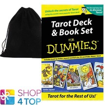 TAROT FOR THE REST OF US! DECK & BOOK SET ESOTERIC US GAMES SYSTEMS VELV... - $48.01