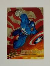 X-Men Fleer Ultra 1996 39 Allies Captain America Trading Card - $9.89
