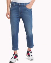 Tommy Jeans DM0DM04912 Hommes Hilfiger Denim Relaxed Crop Pantalon confo... - $87.62