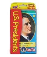U.S. 43 Presidents Pocket Flash Cards 2001 T23013 Information and Activi... - $14.69