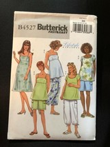 2005 Butterick Sewing Pattern B4527 Maternity SZ 8-14 Uncut - $5.89