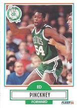 Basketball Card - 1990 Fleer - #15 Ed Pinckney - $1.45