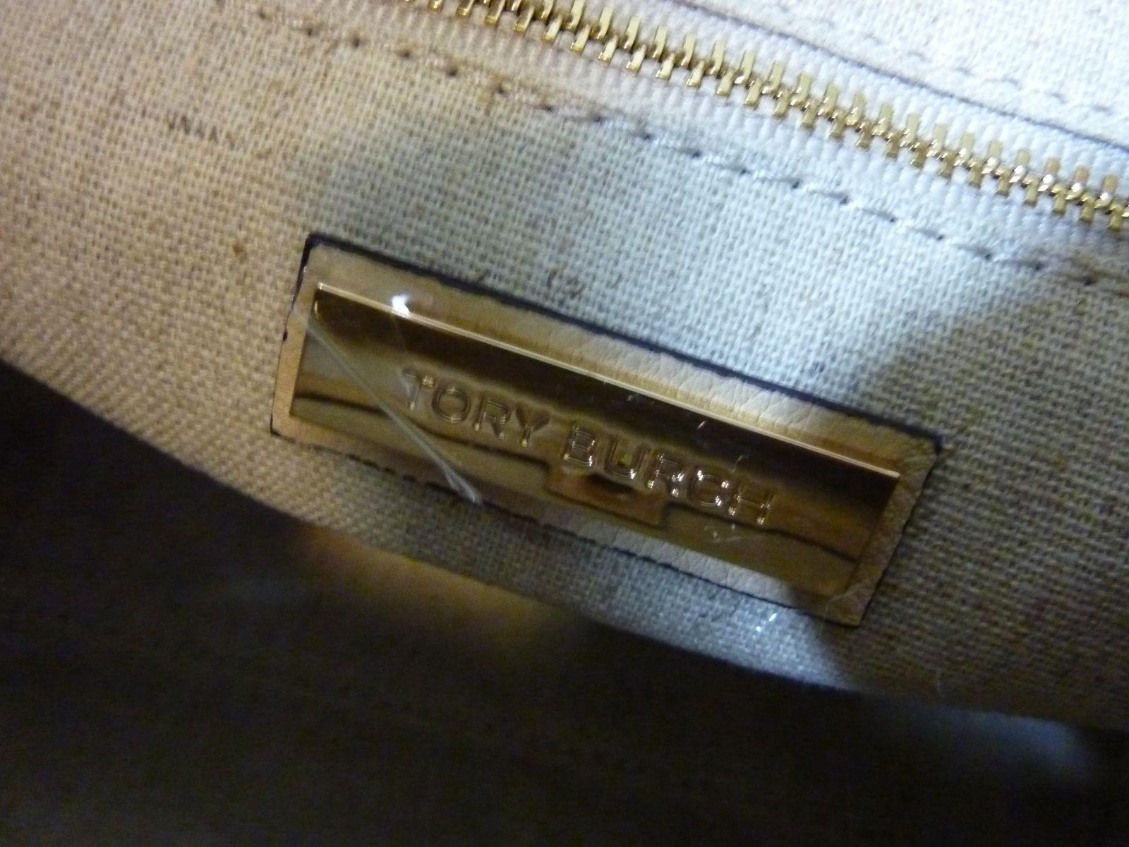 NWT Tory Burch Sand Dune Leather Small Half-Moon Satchel $495