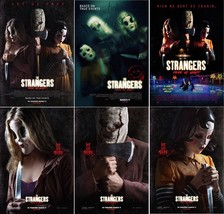 "The Strangers Prey at Night Movie Poster Johannes Roberts 13x20"" 24x36"" 32x48"" - $10.88+"