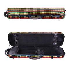 Tonareli Violin Oblong Case with wheels - MALIBU - Multicolor - NEW - $279.00