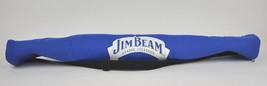 Vtg JIM BEAM Blue INSULATED 6pk Sleeve KOOL PAK Tube COOLER Bag SHOULDER... - $16.88
