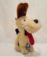 "Odie Dog from Garfield Plush Stuffed Animal 11"" 1983  Dakin Cream Brown - $23.99"