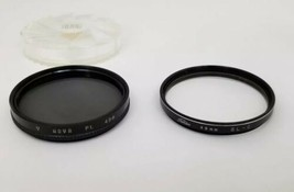 Toshiba SL-C 49mm Cameras Lens Filter & Hoya PL 49mm Filter Set of 2  - $12.59