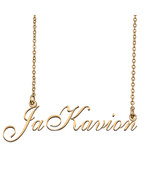 JaKavion Custom Name Necklace Personalized for Mother's Day Christmas Gift - $15.99+