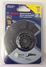 Bosch OSC312F-3 3-1/2'' x 7/8'' Bi-Metal Flush Cut Blade 3 Pack Swiss Made - $10.89