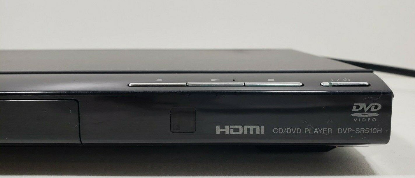 Sony CD/DVD Player HDMI 1080P DVP-SR510H With Remote..Fully Tested image 3