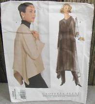 Vogue 2232 American Designer Geoffrey Beene 1998 Pattern All Sizes Incl Uncut* - $22.00