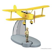 Tintin in the Congo Yellow biplane
