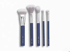 Laruce Cheek & Eyes Brush Set in Denim Blue - $25.00