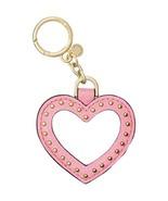 MICHAEL Michael Kors Womens Leather Mirror Fashion Keychain Pink O/S - $46.00