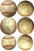 Jimmie Foxx signed 1950s Spalding/Ford Frick 17 sig Philadelphia Phillie... - $1,795.95