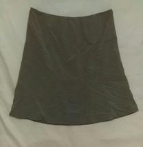 Calvin Klein Grey Women's Lined Dress Skirt Size 16 - $12.27