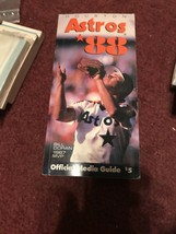 HOUSTON ASTROS MLB BASEBALL MEDIA GUIDE 1988 EX+ - $3.74