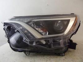 2016 2017 Toyota RAV-4 Driver Lh Halogen Headlight Oem 513 - $130.95