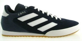 ADIDAS COPA SUPER MEN'S NAVY/WHITE INDOOR SOCCER SNEAKERS #CQ1946 - $49.99